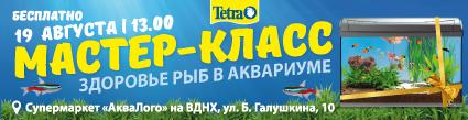 Мастер-класс компании Tetra «Здоровье рыб в аквариуме»