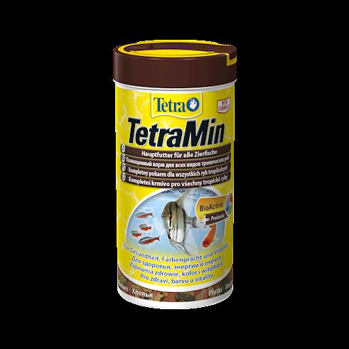 Сухие корма TetraMin хлопья 100 мл 130 рублей в супермаркетах Аква Лого!