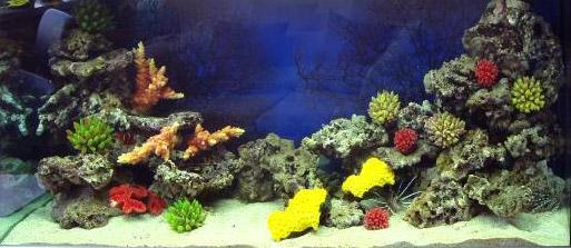 Искусственный коралл для аквариума своими руками