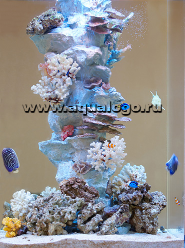 Сделать коралл в аквариум своими руками 883