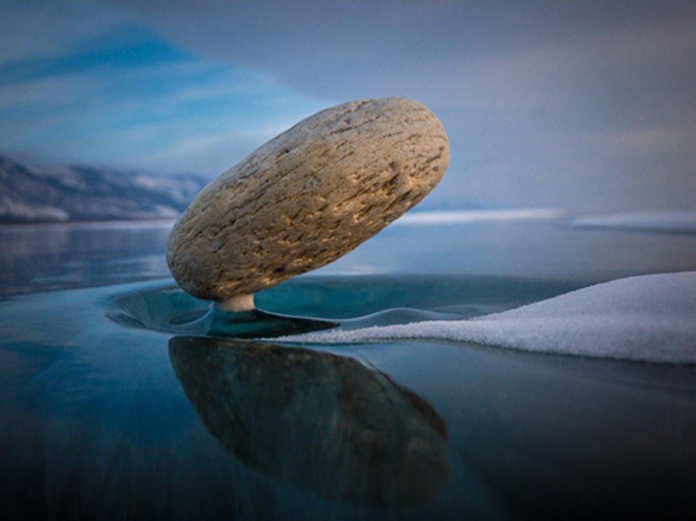 Байкальские ледяные чудеса