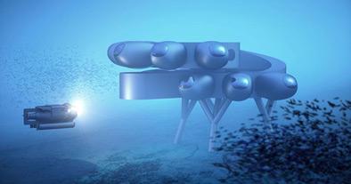 Внук Жака-Ива Кусто построит «подводный МКС»