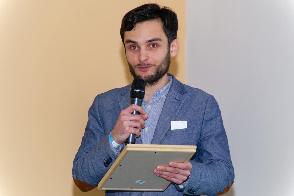 Олег Лабутов, организатор мастер-класса по оформлению биотопных аквариумов со зрительской оценкой