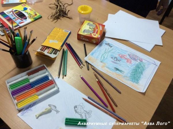 Приглашаем принять участие в конкурсе детского рисунка в Аква Лого на ВДНХ!
